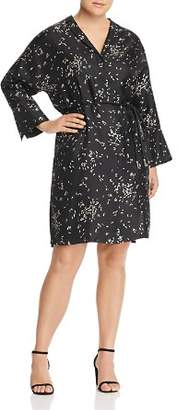 Lafayette 148 New York Plus Calleigh Silk Shirt Dress