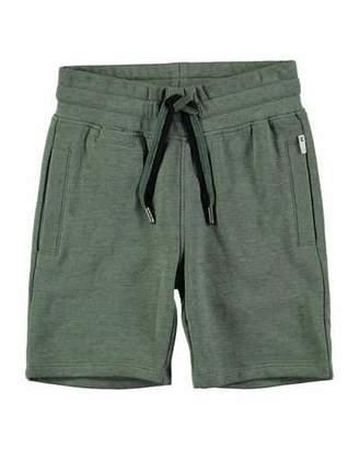Molo Akon Cotton-Blend Drawstring Shorts, Size 4-10