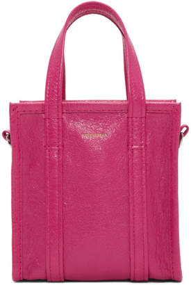 Balenciaga Pink XXS Bazar Shopper Tote