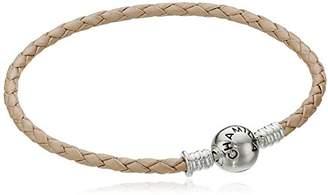 Chamilia Blush Leather Charm Bracelet