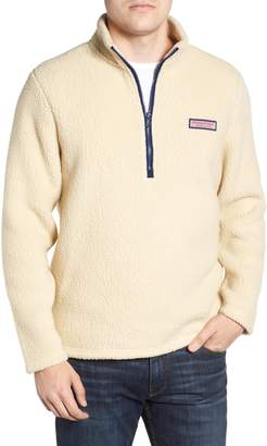 Vineyard Vines Fleece Quarter Zip Pullover