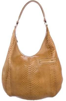 VBH Snakeskin Hobo Bag