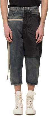 Drkshdw Combo Collapse Cropped Jeans