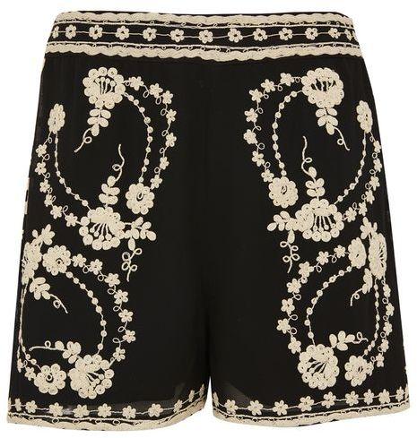 TopshopTopshop Lace bed shorts