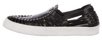 Derek Lam 10 Crosby Leather Slip-On Sneakers