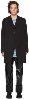 Comme des Garcons Black Open Sides Coat
