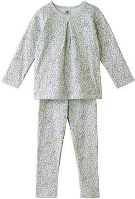 Petit Bateau (プチ バトー) - プチバトー 4歳 チュビックプリント長袖パジャマ