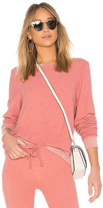 Wildfox Couture Solid Long Sweatshirt