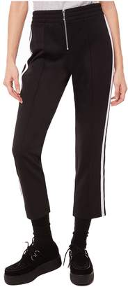 Juicy Couture Stripe Tricot Cropped Track Pant