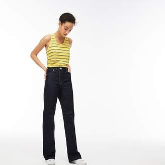 Lacoste Women's Boot Cut Stretch Denim Jeans
