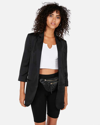 Express Notch Collar Boyfriend Blazer