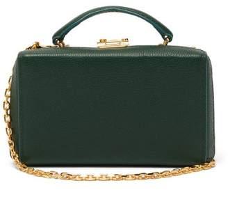 Mark Cross Grace Gold Plated Leather Belt Bag - Womens - Green