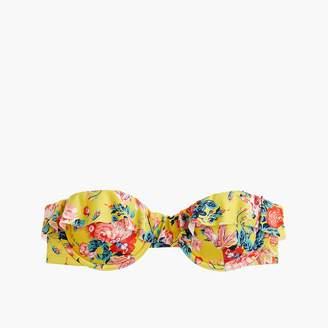 J.Crew Ruffle underwire bikini top in Liberty® magical bouquet