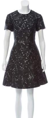 Markus Lupfer Silk-Blend Dress