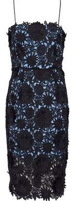 Milly Floral-Appliqud Guipure Lace Dress