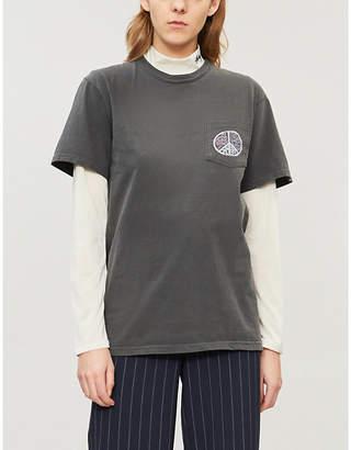 Stussy Plant Love cotton-jersey T-shirt