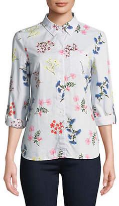 Tommy Hilfiger Cornell Stripe Cotton Button-Down Shirt