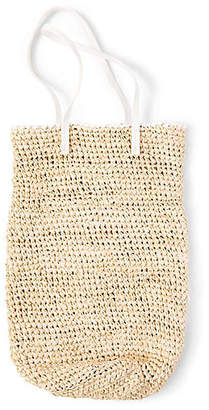 Luna Tote - Natural/White - Indego Africa