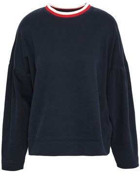 Chinti and Parker Gathered Cotton-jersey Top