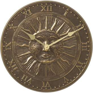 Generic Sunface Clock, French Bronze