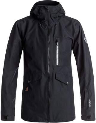 Quiksilver Black Alder 2L Gore-Tex Hooded Jacket - Men's
