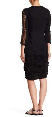 XCVI Arya Crochet Sleeve Dress