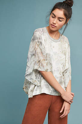 Burning Torch Marinela Silk Blouse