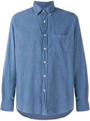 Glanshirt Velvet Shirt Pocket