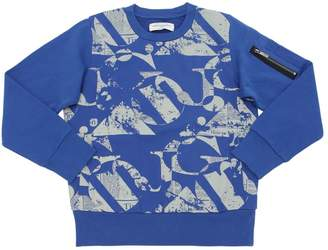John Galliano Gazette Printed Cotton Sweatshirt