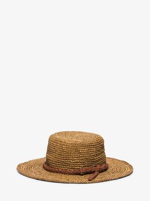 Michael Kors Santorini Raffia Straw Hat