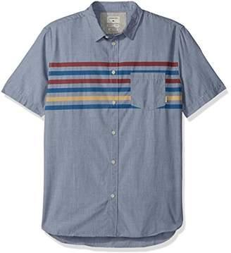 Quiksilver Men's Popline Button Down Shirt