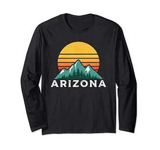 Retro Hiking Arizona Long Sleeve Shirt