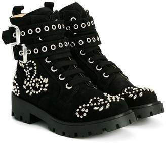 Ermanno Scervino studded boots