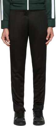 Burberry Black Slim Track Pants $450 thestylecure.com