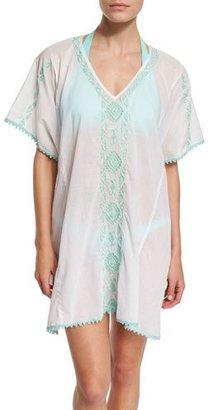 Letarte Mystique Embroidered Caftan Coverup $238 thestylecure.com