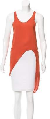 Kimberly Ovitz Sleeveless Asymmetrical Top
