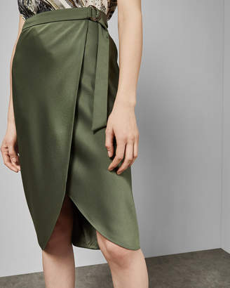 a8d2d0042f Ted Baker ALEYXA Belted wrap midi skirt