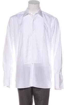 Turnbull & Asser Pleated French Cuff Shirt