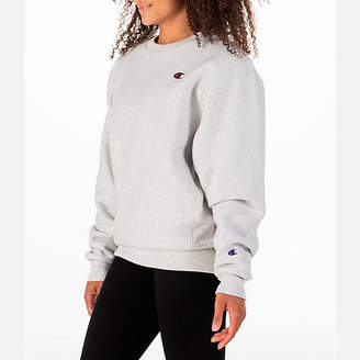 Champion Women's Signature Small Logo Crew Sweatshirt
