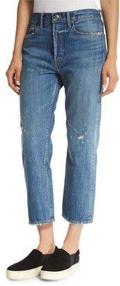 Vince Heritage Union Slouch Jeans, Blue $265 thestylecure.com