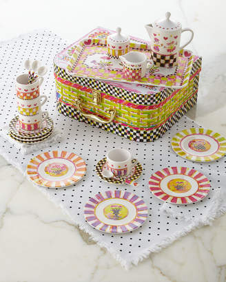 Mackenzie Childs Tea Party Tea Set