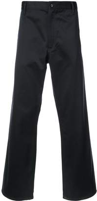 Comme des Garcons Junya Watanabe Man tailored fitted trousers x carhartt