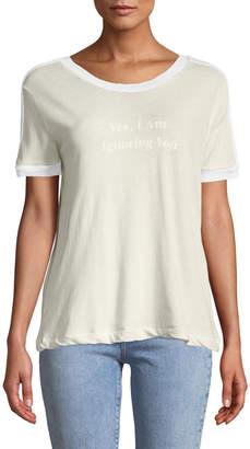 Wildfox Couture Ignoring You Vintage Slogan Tee
