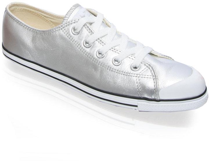 Converse Metallic Leather Shoe