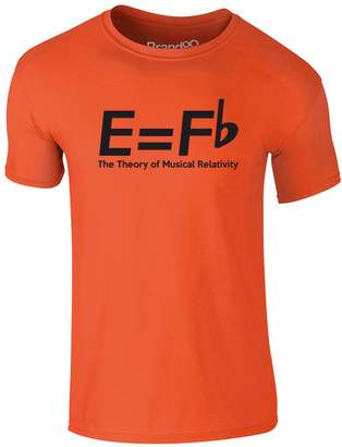 Theory Brand88 The of Musical Relativity, Adults T-Shirt - Royal Blue/White L