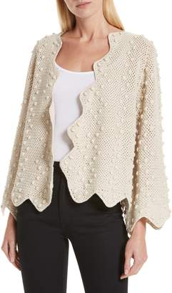 The Great The Zig Zag Bobble Cardigan