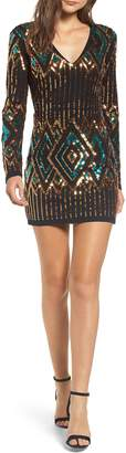 Endless Rose Sequin Embellished Body-Con Dress