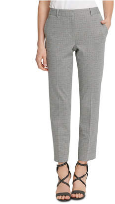 DKNY Mid-Rise Ankle Pants