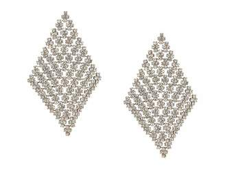 GUESS Post Drop Earrings w/ Stones