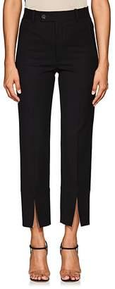 Helmut Lang Women's Slit-Hem Pants